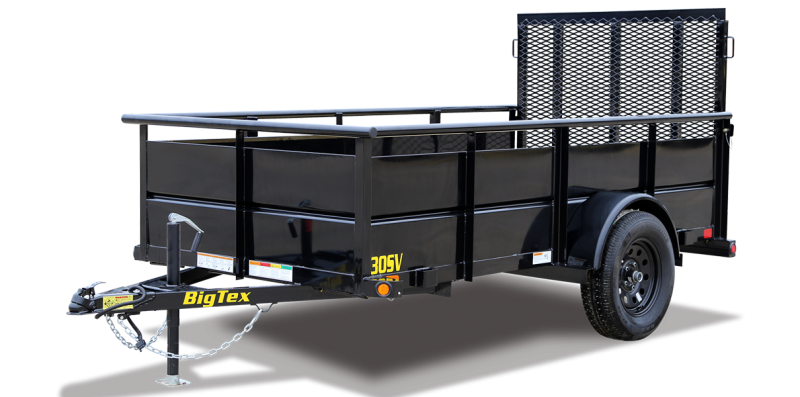 2022 Big Tex Trailers 05x10 30SV Utility Trailer