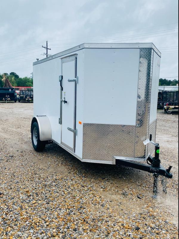 2021 Rock Solid Cargo 05x10 SA Enclosed Cargo Trailer