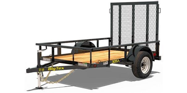 2020 Big Tex Trailers 5x10 ON ORDER 30SA-10 Utility Trailer