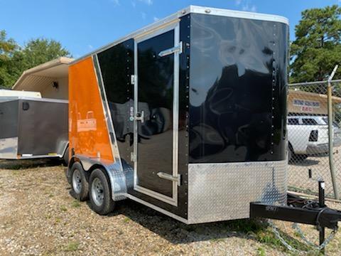 2021 Cargo Mate 07x12 TA Enclosed Cargo Trailer