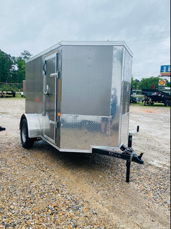 2021 Rock Solid Cargo 05x08 SA Enclosed Cargo Trailer