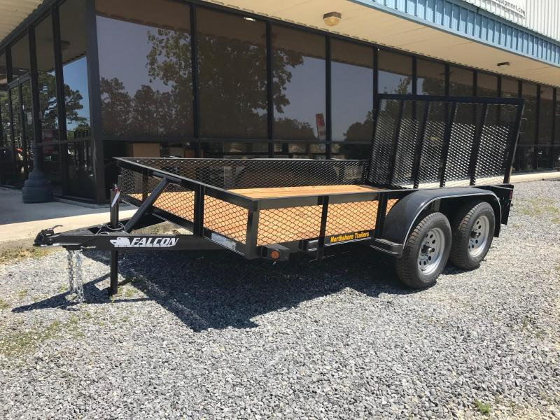 2021 Falcon 6.5x12 SD TA (NO BRAKES) Utility Trailer