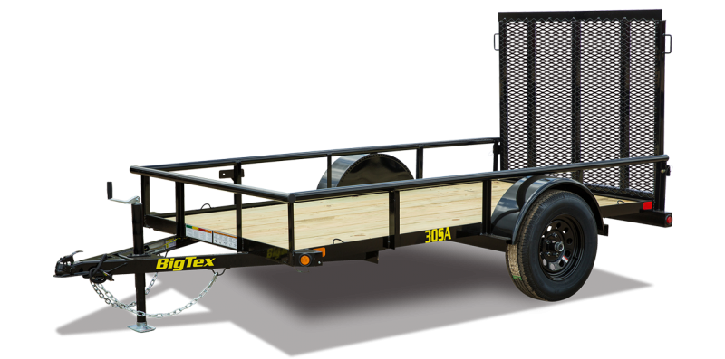 2021 Big Tex Trailers 05x10 30 SA Utility Trailer