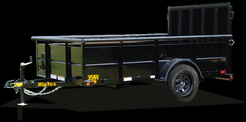 2021 Big Tex Trailers 06.05x10 35SV Utility Trailer