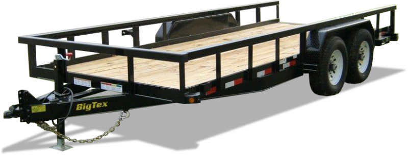 2021 Big Tex Trailers 6.10x20 14PI-20 Equipment Trailer