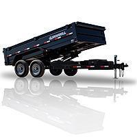 2022 Iron Bull 06.10x12 DTB Dump Trailer