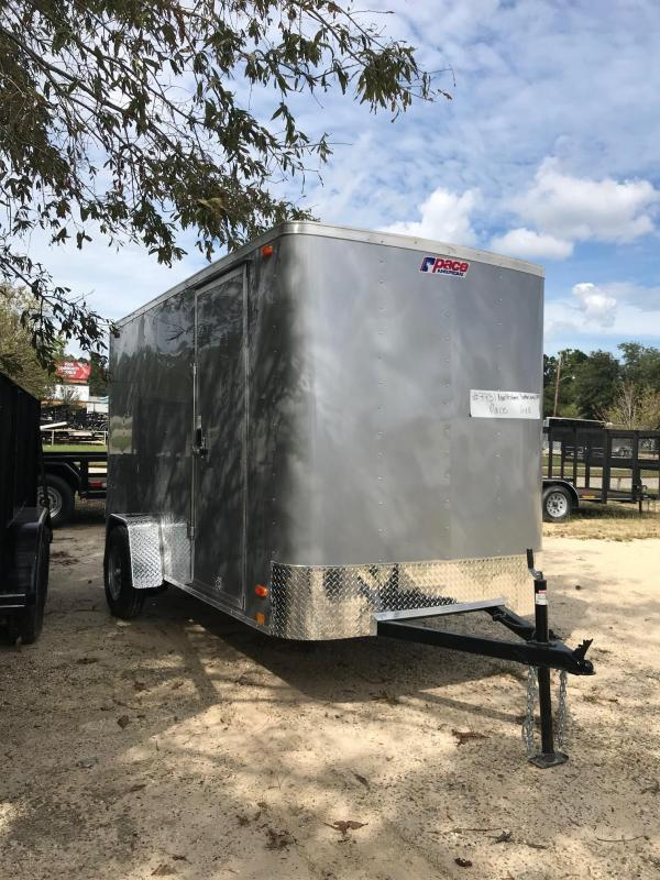 2022 Pace American 6x12 Outback PSCAA6.0X12SI2FC (OB6X12SI2) Enclosed Cargo Trailer