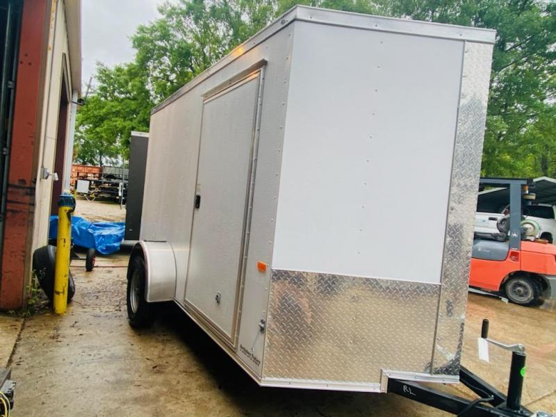 2021 Rock Solid Cargo 06x10 SA Enclosed Cargo Trailer