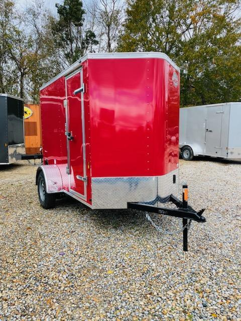 2021 Cargo Mate 05x08 SA Enclosed Cargo Trailer