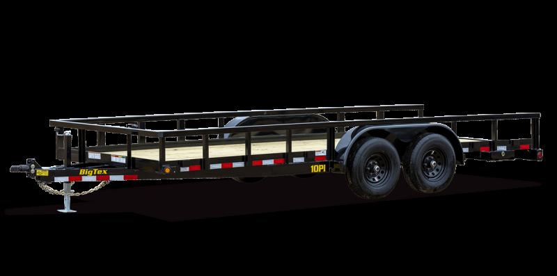 2022 Big Tex Trailers 6.10x20 10PI-20 Equipment Trailer