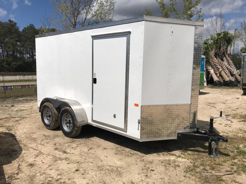 2021 Rock Solid Cargo 6x12 TA VN Enclosed Cargo Trailer