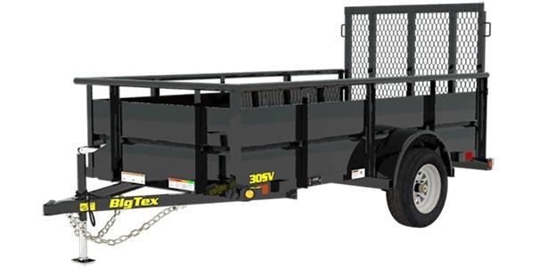 2021 Big Tex Trailers 5x10 30SV-10 Utility Trailer