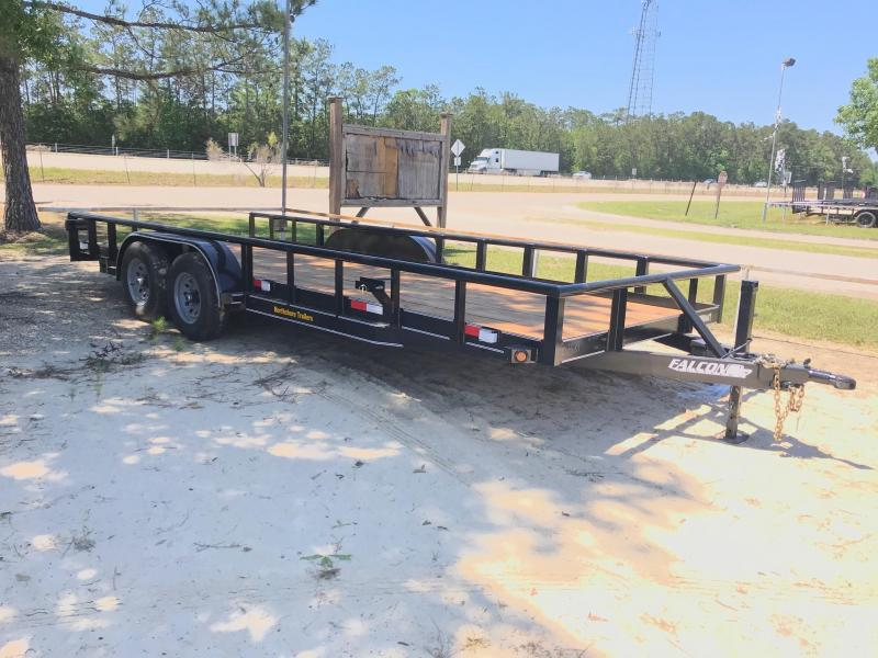 2021 Falcon 6.10x20 Spr Duty 2 Utility Trailer