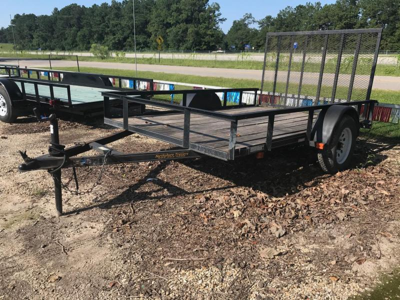 2011 Carry-On 6.4x10 USED Utility Trailer