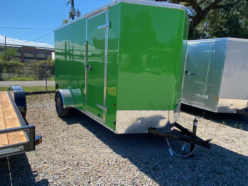 2021 Continental Cargo 06x12 SA Enclosed Cargo Trailer
