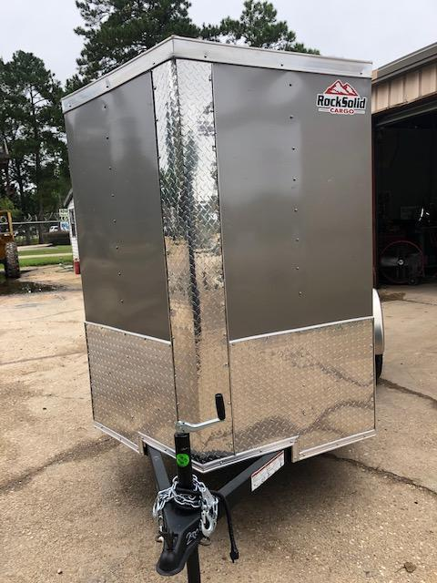 2021 Rock Solid Cargo 5x10SA Enclosed Cargo Trailer
