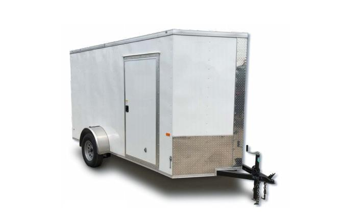 2021 Rock Solid Cargo ON ORDER 4 x 6 SA Enclosed Cargo Trailer