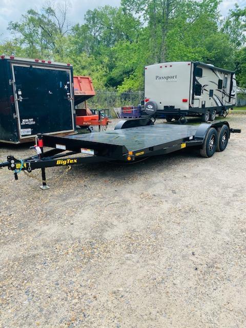 2021 Big Tex Trailers 06.10x18 70DM Car / Racing Trailer