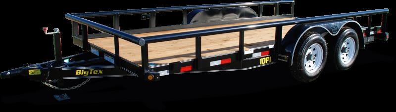 2021 Big Tex Trailers 6.10x18 10PI-18 Equipment Trailer