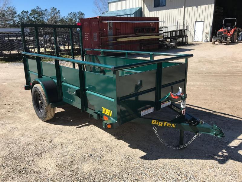 2021 Big Tex Trailers 5x10 30SV-10 Utility Trailer