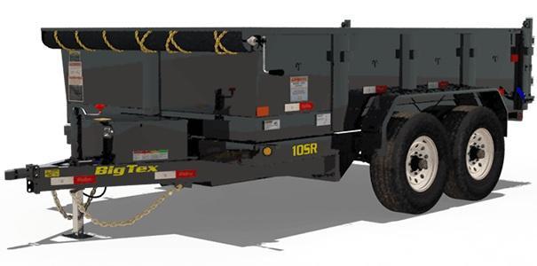 2021 Big Tex Trailers 7x12 10SR-12XL Dump Trailer