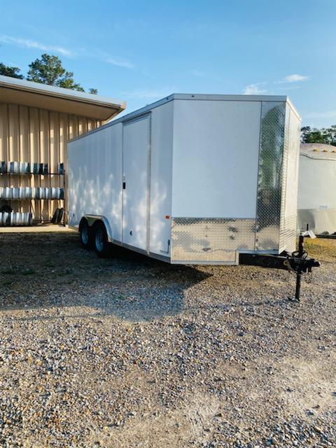 2021 Rock Solid Cargo 08x16 TA Enclosed Cargo Trailer