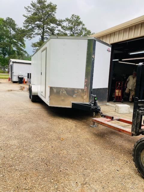 2021 Rock Solid Cargo 07x18 TA Enclosed Cargo Trailer