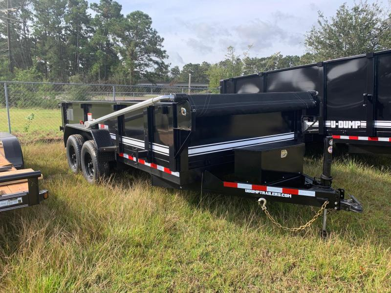 2021 U-Dump 7x14 Pro Series 831414LP Dump Trailer
