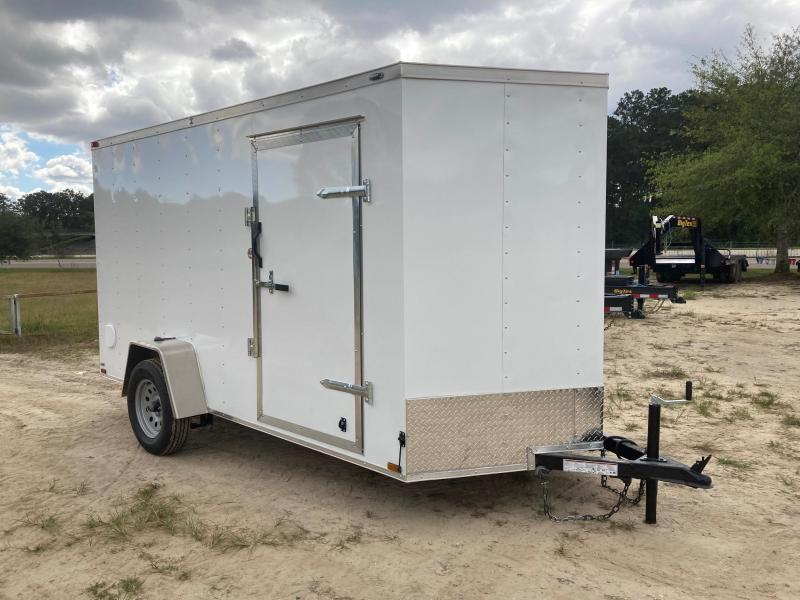 2022 Lark 6x12 SA VN Enclosed Cargo Trailer