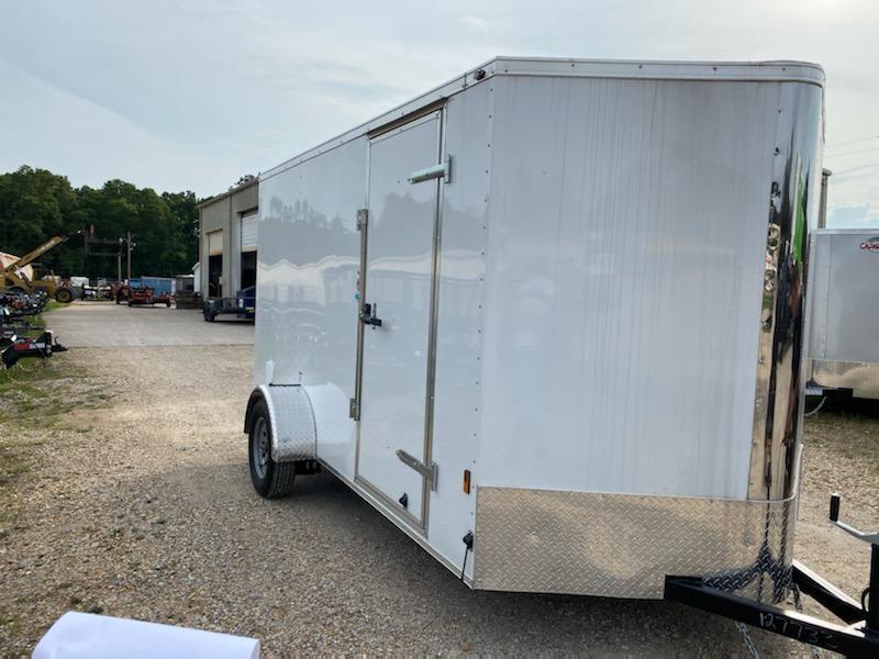 2021 Cargo Mate 6.05x12 SA Enclosed Cargo Trailer