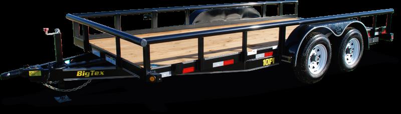 2020 Big Tex Trailers 6.10x16 10PI-16 Equipment Trailer