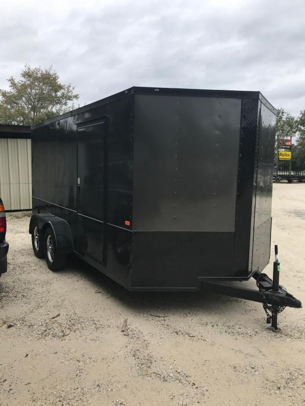 2021 Rock Solid Cargo 7x14 TA VN Enclosed Cargo Trailer