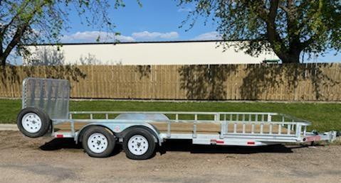 "2021 ED Trailer Mfg 20' x 83"" Tandem Axle Utility Trailer"