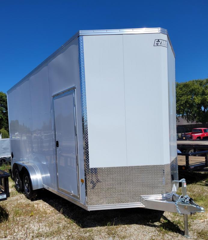 2021 ALCOM 7 x 16 EZ Hauler Enclosed Cargo Trailer