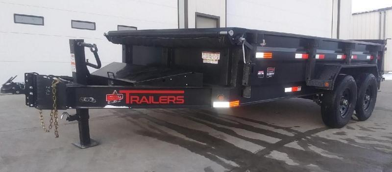 "2021 ED Trailer Mfg 14' x 83"" Low Pro Dump Trailer"