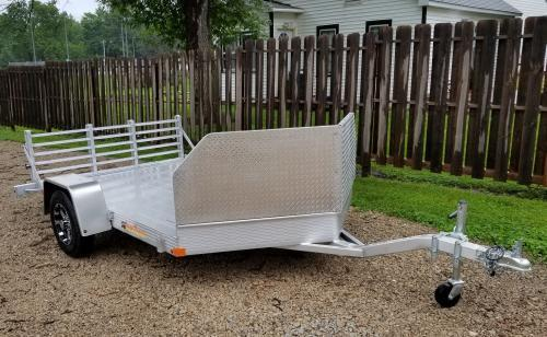"2019 Bear Track 76"" x 132"" Motorcycle Trailer"