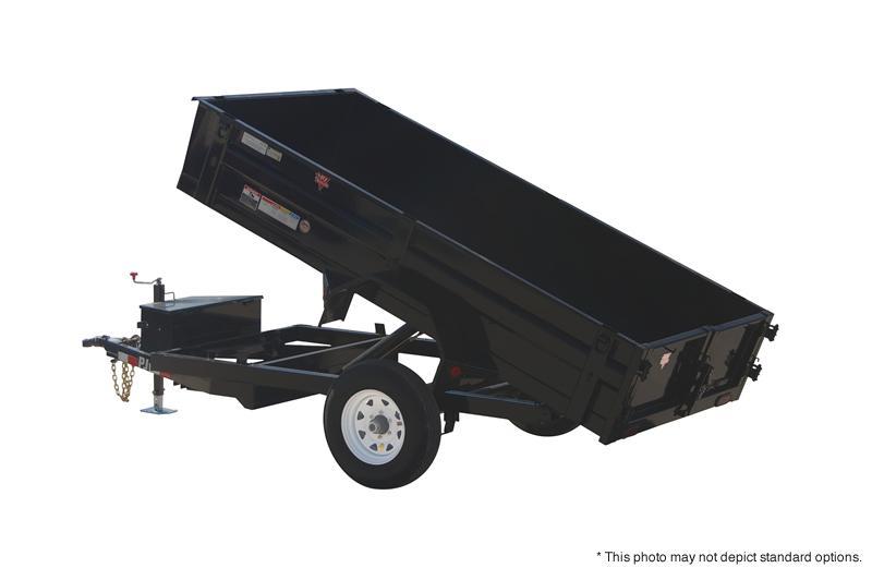 "2021 PJ Trailers 10' x 60"" Utility Dump Trailer"