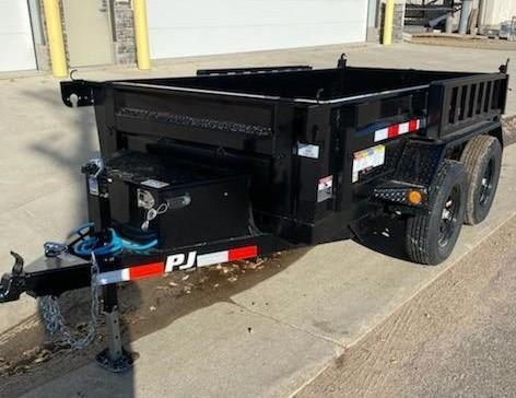 2021 PJ Trailers 10' x 60 in. Utility Dump (D5) Dump Trailer