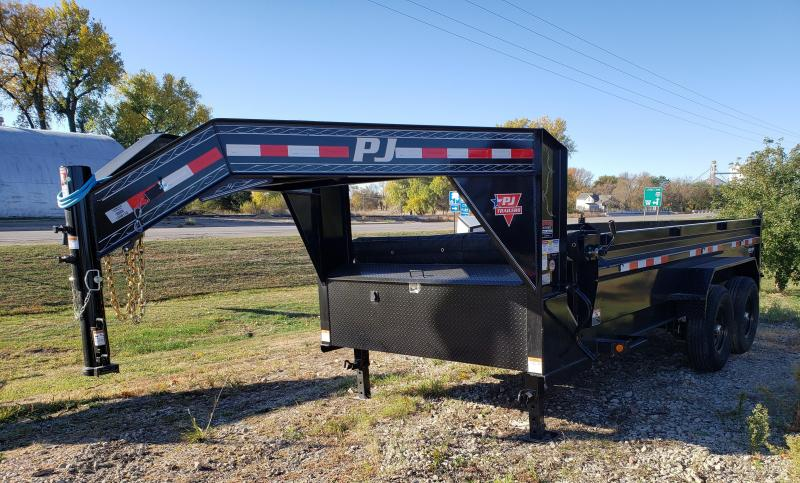 2021 PJ Trailers 14' x 83 in. Low Pro Dump (DL) Dump Trailer