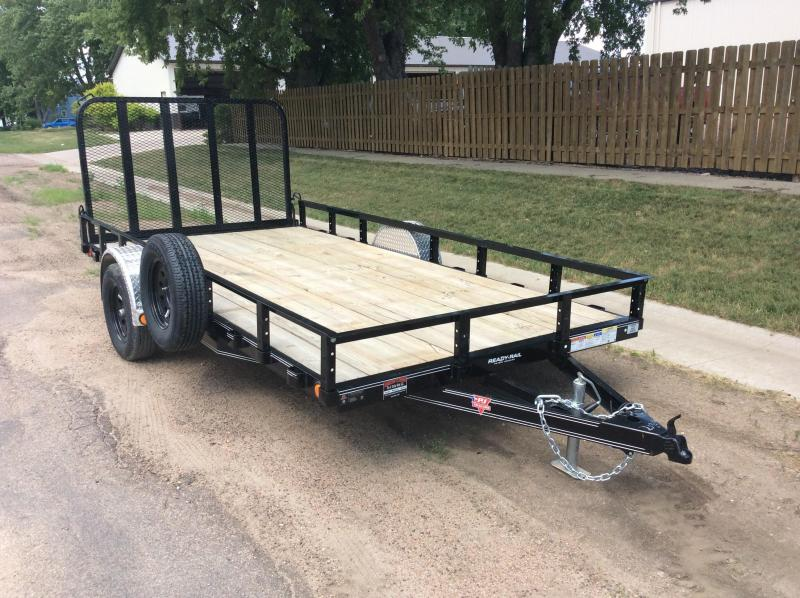 2020 PJ Trailers 14' x 83 in. Single Axle Channel Utility (U8) Utility Trailer