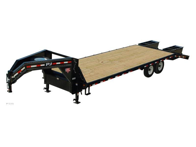 2019 PJ Trailers 32' Classic Flatdeck with Singles (FS) Flatbed Trailer