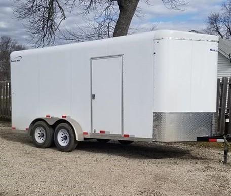 2020 Sharp Model 7' x 16' Enclosed Cargo Trailer