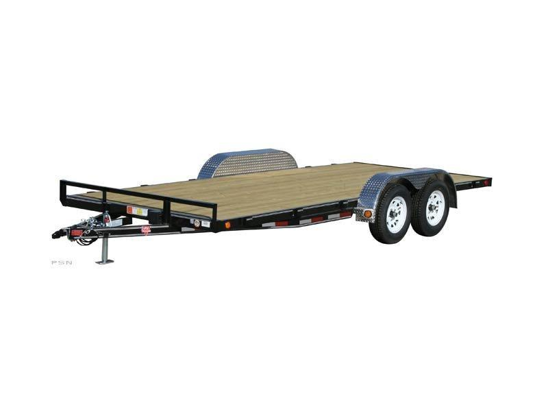 2021 PJ Trailers 20' x 4 in. Channel Carhauler (C4)  Trailer