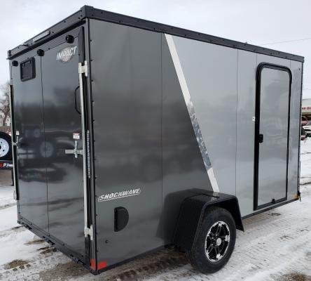2019 Impact 6' x 12' Shockwave Enclosed Cargo Trailer