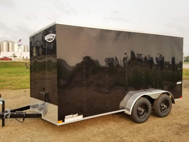 2021 Impact Trailers 7 x 14 Quake Enclosed Cargo Trailer