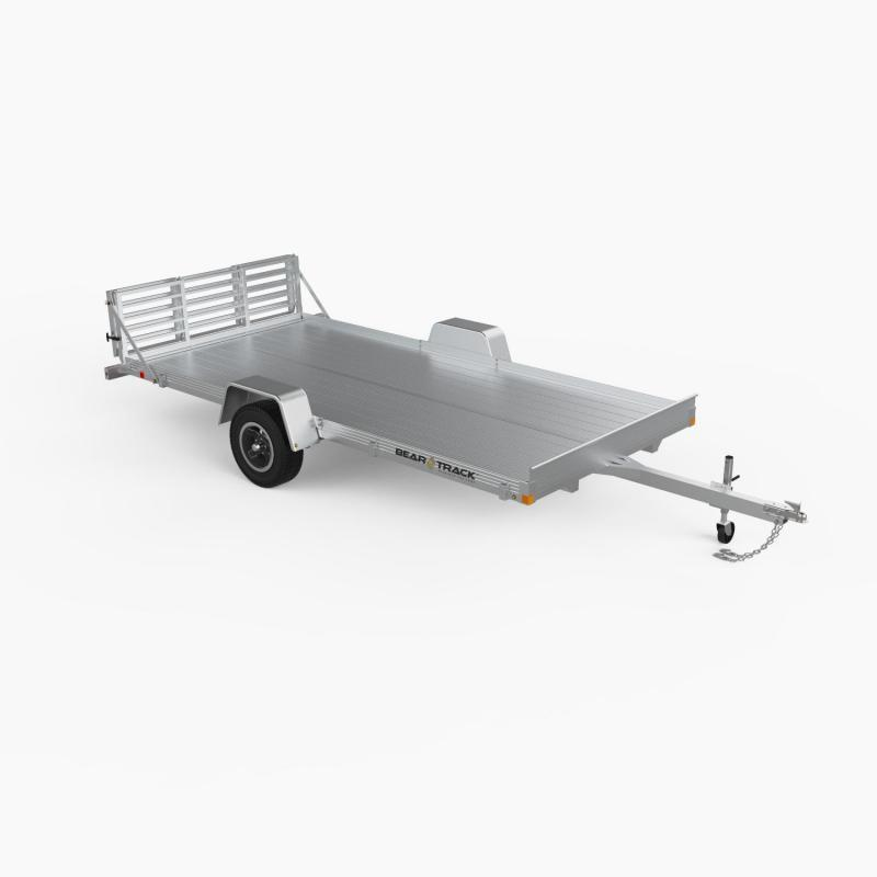 "2021 Bear Track 80"" x 144"" Aluminum Utility Trailer"