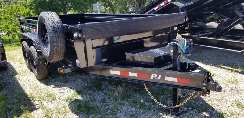 "2021 PJ Trailers 14' x 83"" Low Pro Dump Trailer"