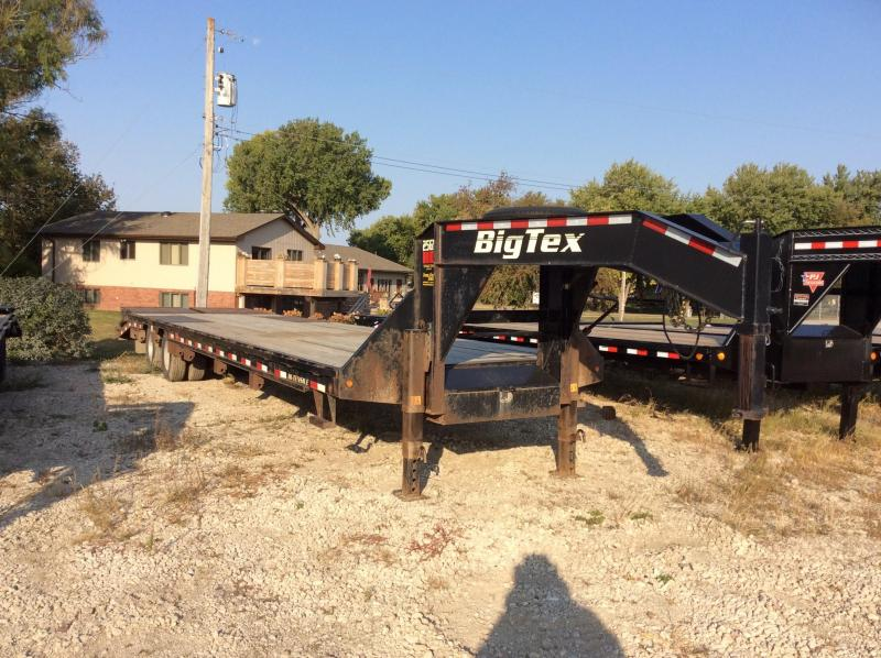 2015 Big Tex Trailers 25GN-30+5 Equipment Trailer
