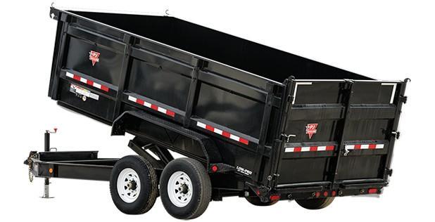 "2022 PJ Trailers 14' x 83"" Low Pro High Side Dump (DM) Dump Trailer"