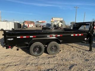 "2021 PJ Trailers 16' x 83"" Low Pro Dump w/ 8k Axles Dump Trailer"